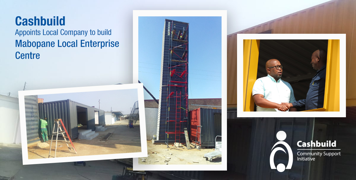 CSI - Cashbuild Appoints Local Company to build Mabopane Local Enterprise CentreInitiate